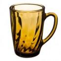 Кружка 300мл Дымчатое стекло Элико 879-150