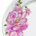 Тарелка мелкая 175мм Розовые Розы гр.8 057