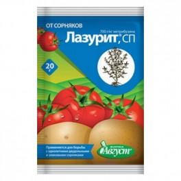 Отрава Лазурит от сорняков 20гр. по картофелю и томатам С-0068
