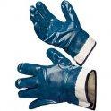 Краги МаслоБензоСтойкие нитриловые синие