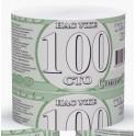 Бумага туалетная б/дыр.Доллар 150гр б/втулки