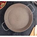 Сковорода 27*3см Satoshi Стоун 3891987 мрамор 2ручки индукция