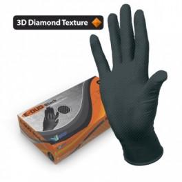 Перчатки нитрил. универсальн. M E-DUO Black 240