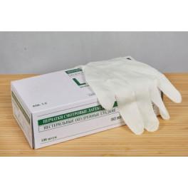 Перчатки латекс. M LAB002