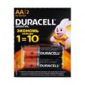 Батарейка Duracell АА алкалиновые пальчиковые 2шт. 917-069